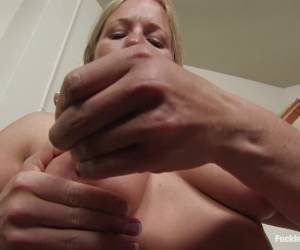 Exotic fetish, blonde xxx movie with amazing pornstar Dia Zerva from Fuckingmachines