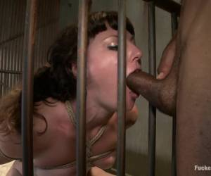 Horny bdsm, fetish porn clip with amazing pornstars Mickey Mod and Sahara Rain from Dungeonsex